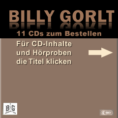Billy Gorlt, CD bestellen